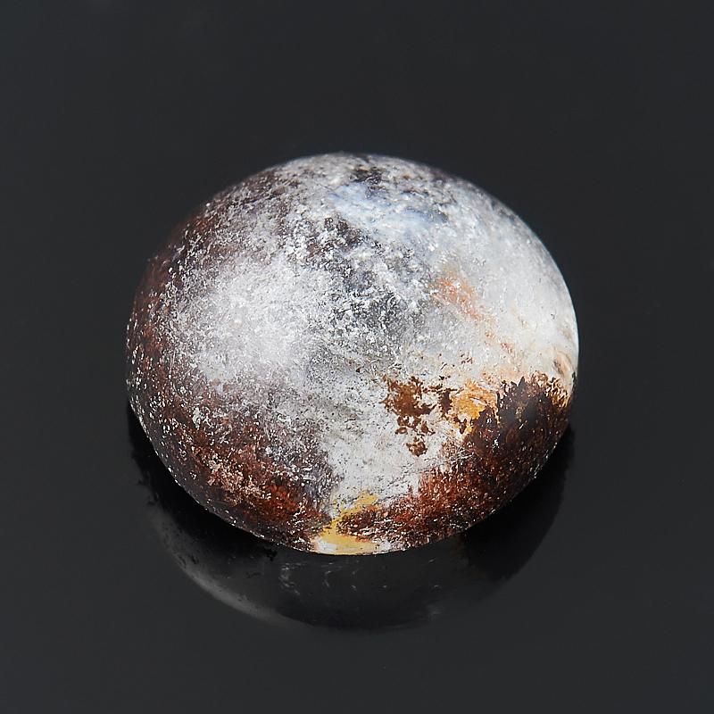 Кабошон кварц  10 мм кабошон фосфосидерит 18 мм