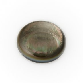 Кабошон перламутр галиотис (дублет) 12 мм