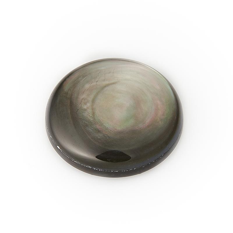 Кабошон перламутр галиотис (дублет) 12 мм кабошон перламутр галиотис дублет 12 мм