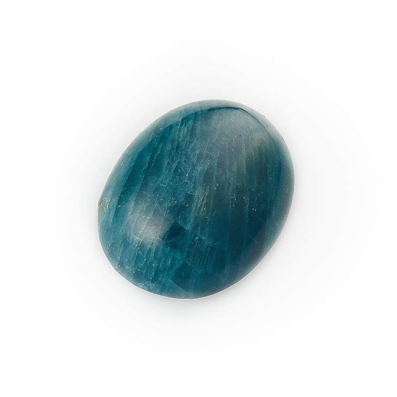 Кабошон апатит синий 12*16 мм