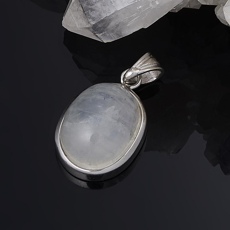 Кулон овал лунный камень  2-2,5 см