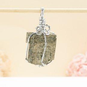 Кулон кристалл пирит Перу 3-3,5 см