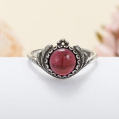Кольцо гранат альмандин Индия (серебро 925 пр.) размер 18,5