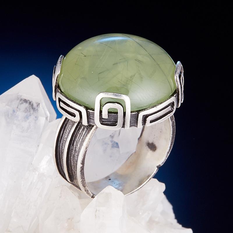 Кольцо пренит  (серебро 925 пр.) размер 18