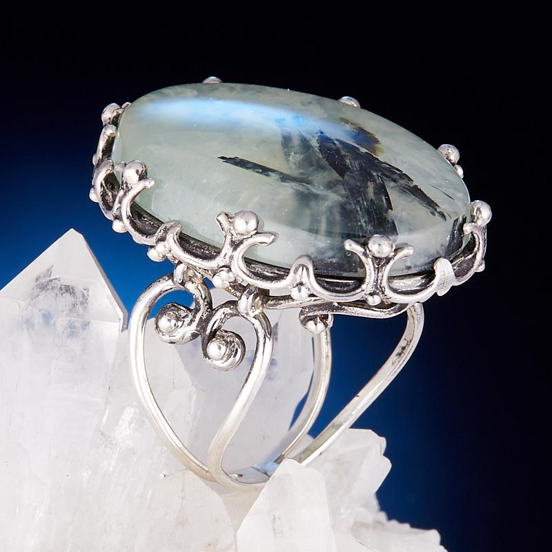 Кольцо пренит  (серебро 925 пр.) размер 17,5 кольцо авантюрин зеленый серебро 925 пр размер 17 5