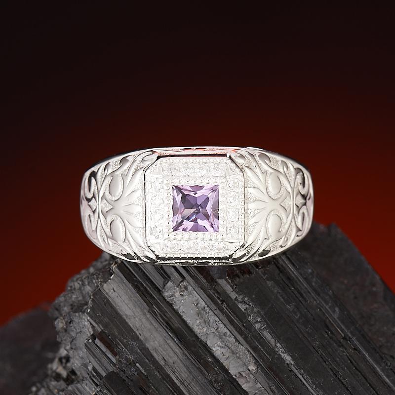 Кольцо аметист  огранка (серебро 925 пр.) размер 21 кольцо авантюрин серебро 925 пр размер 21 5