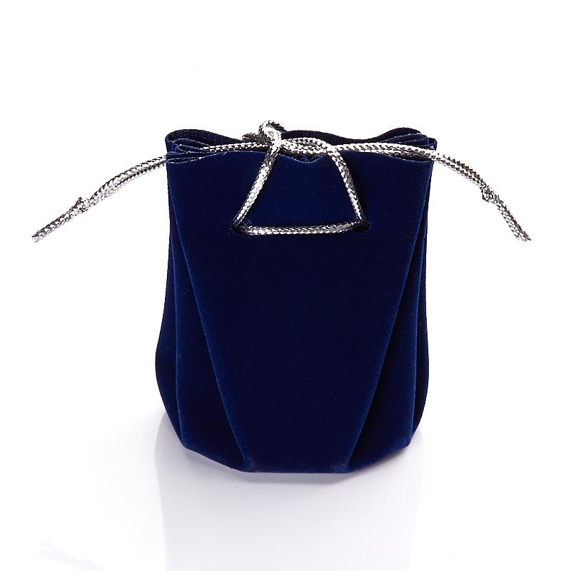 Подарочная упаковка универсальная (мешочек объемный темно синий) 40х40х60 мм