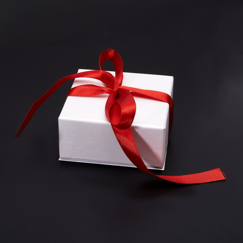 Подарочная упаковка под комплект (кольцо, серьги, кулон) 85х85х40 мм