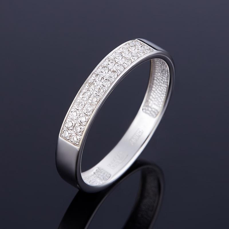 Кольцо бриллиант Индия огранка (золото 585 пр.) размер 22