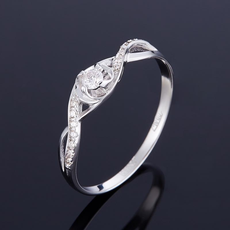 Кольцо бриллиант Индия огранка (золото 585 пр.) размер 15