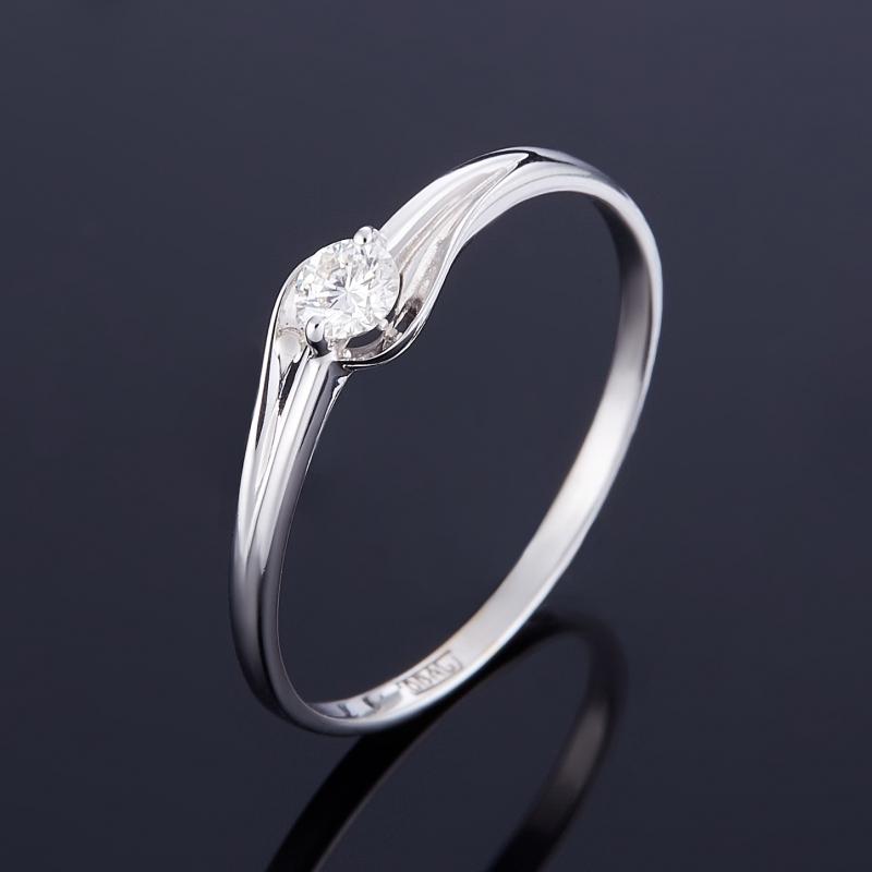 Кольцо бриллиант Индия огранка (золото 585 пр.) размер 14,5
