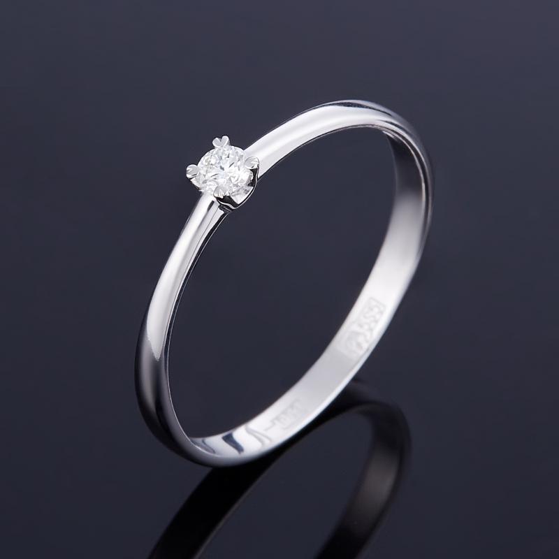 Кольцо бриллиант Индия огранка (золото 585 пр.) размер 20