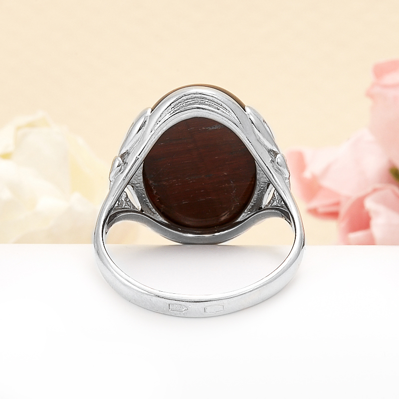 Кольцо бычий глаз ЮАР (серебро 925 пр.) размер 14,5