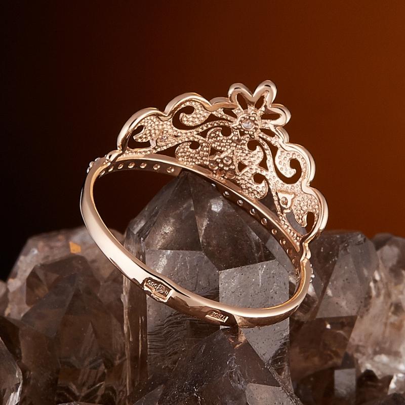 Кольцо бриллиант Россия огранка (золото 585 пр.) размер 15