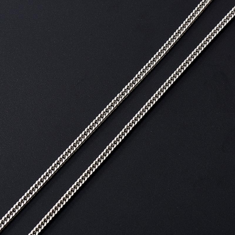 Цепь  полновесная панцирь 65 см (серебро 925 пр.)