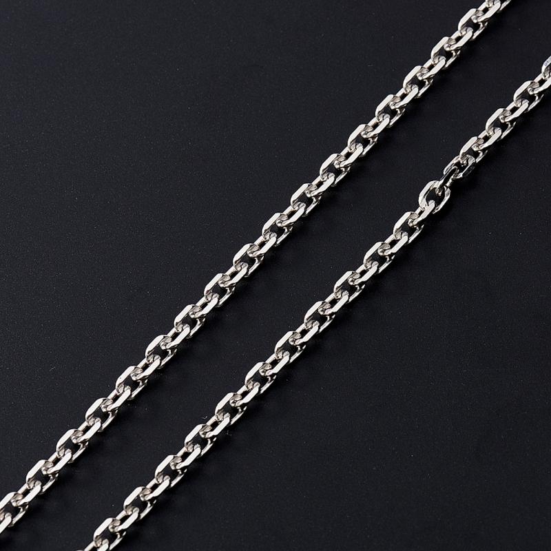 Цепь полновесная якорь 60 см  (серебро 925 пр.)