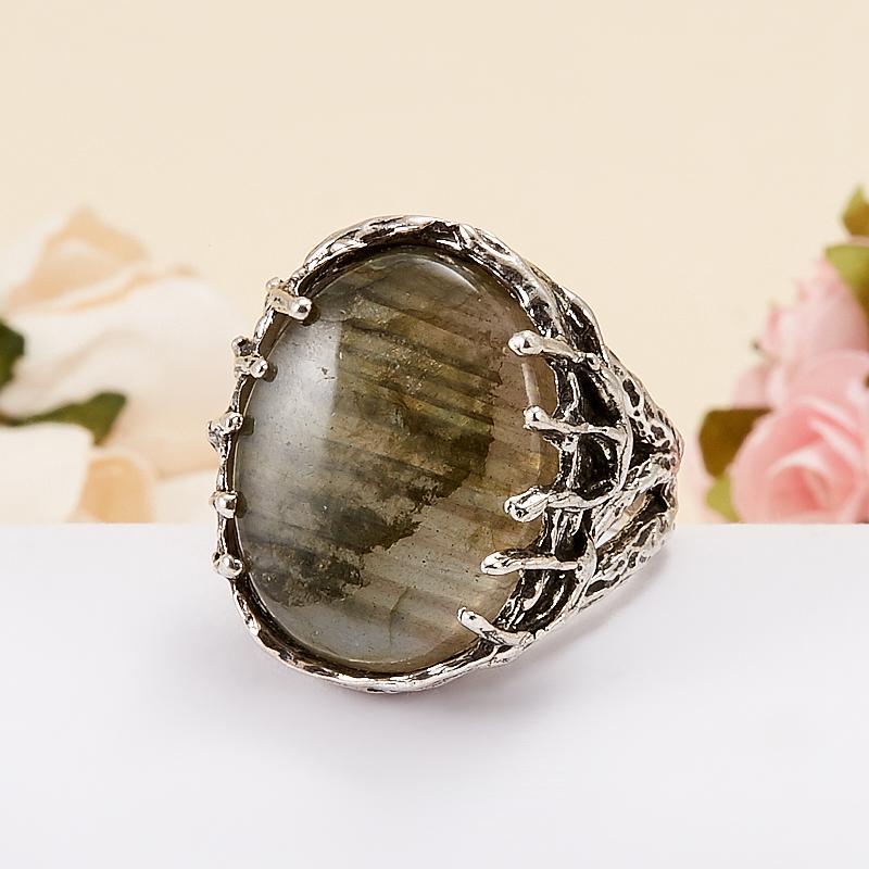 Кольцо лабрадор  (серебро 925 пр.) размер 18 кольцо фуксит серебро 925 пр регулируемый размер