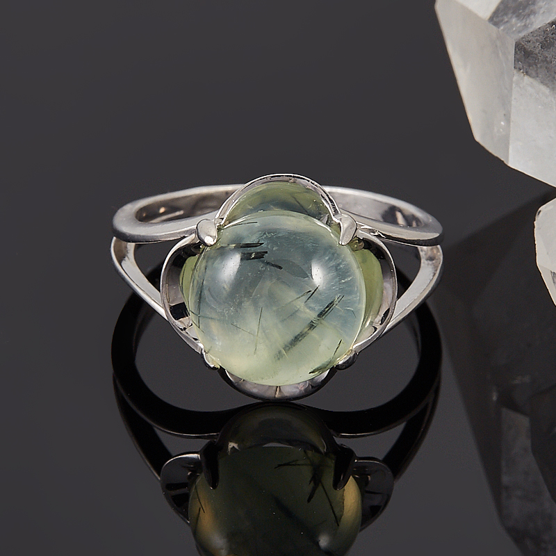 Кольцо пренит  (серебро 925 пр.) размер 17 кольцо авантюрин зеленый серебро 925 пр размер 18