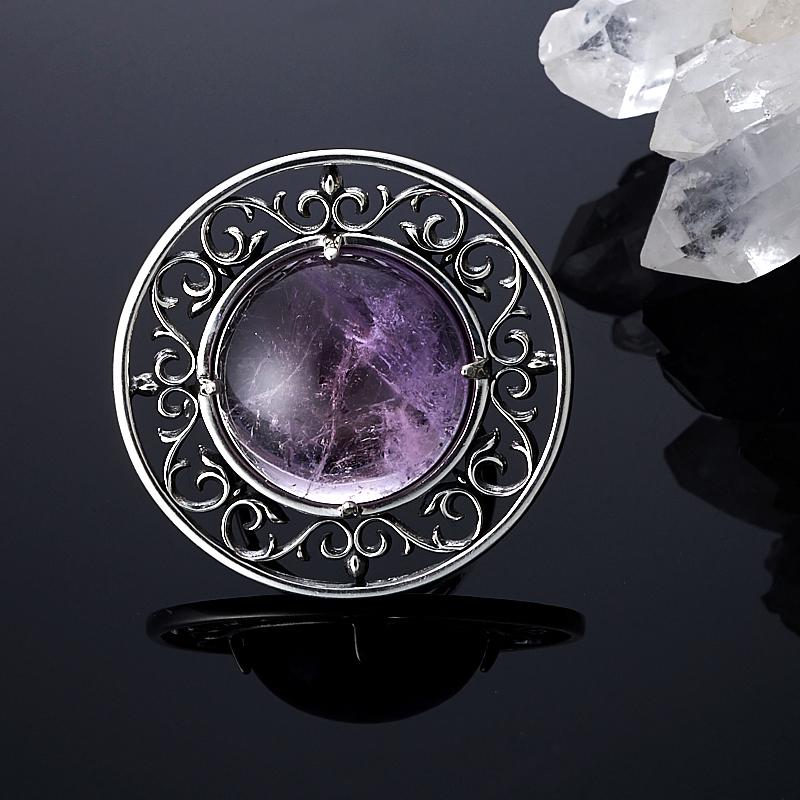 Кольцо аметист  (серебро 925 пр.) размер 17,5 кольцо аметист серебро 925 пр размер 19 5