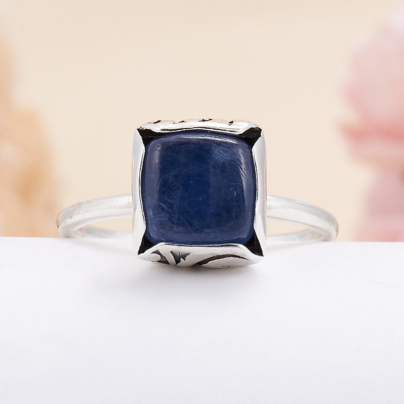 Кольцо кианит синий  (серебро 925 пр.) размер 16,5 кольцо персиянка кианит