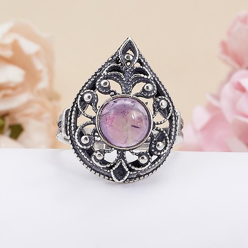 Кольцо аметист  (серебро 925 пр.) размер 19 кольцо аметист серебро 925 пр размер 19 5