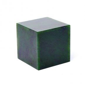 Куб нефрит зеленый Россия 5х5 см (1 шт)