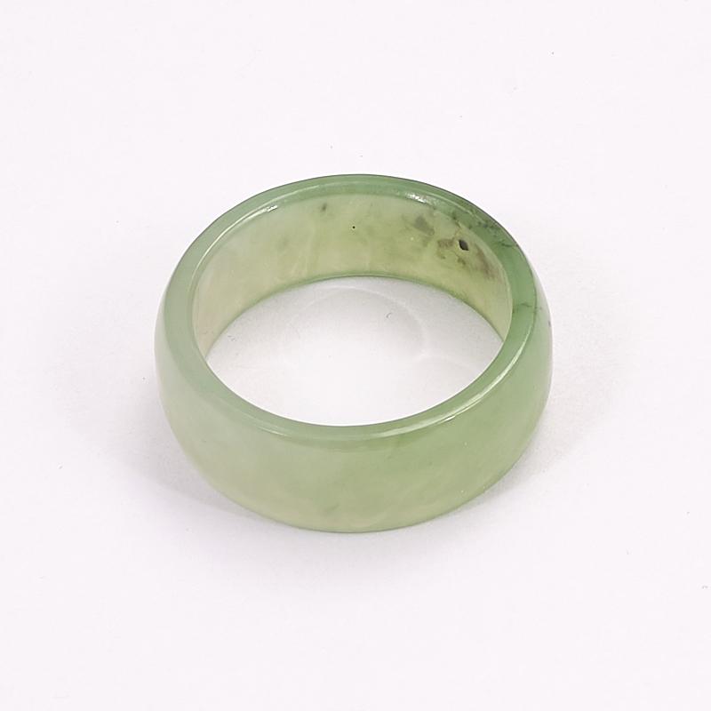 Кольцо нефрит зеленый (цельное) размер 17,5 мумие цельное очищенное купить украина