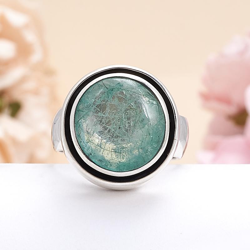 Кольцо берилл  (серебро 925 пр.) размер 17 кольцо авантюрин зеленый серебро 925 пр размер 18