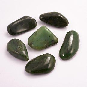 Галтовка Нефрит зеленый Россия (4-5 см) 1 шт