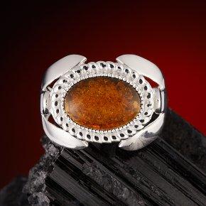 Кольцо янтарь Россия (серебро 925 пр.) размер 21,5