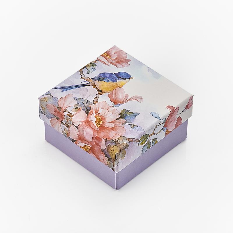 Подарочная упаковка под комплект (кольцо, серьги, кулон) 60х60х30 мм