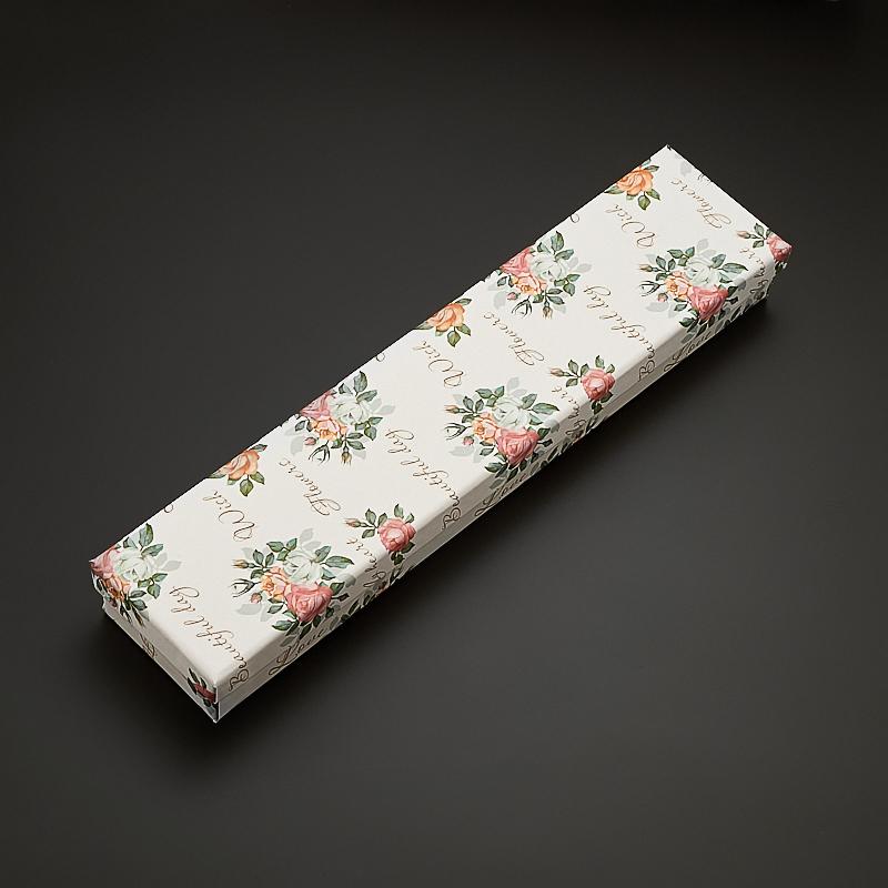 Подарочная упаковка под цепь/браслет 200х40х25 мм женская цепь красцветмет золотая цепь ndнц 12 084 d 0 40 40