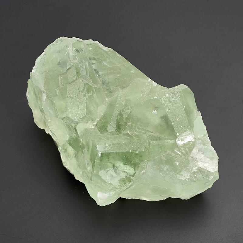 Друза флюорит зеленый M флюорит радужный минерал камень в коробочке real minerals collection флюорит радужный