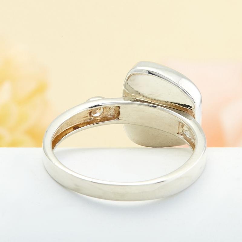 Кольцо бирюза США (серебро)  размер 21