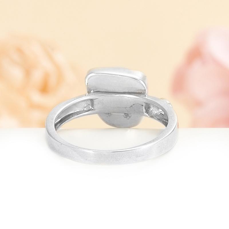 Кольцо бирюза США (серебро)  размер 16