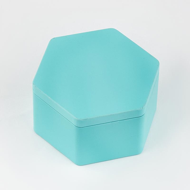 Шкатулка для хранения камней / украшений 8,5х8,5х4,5 см