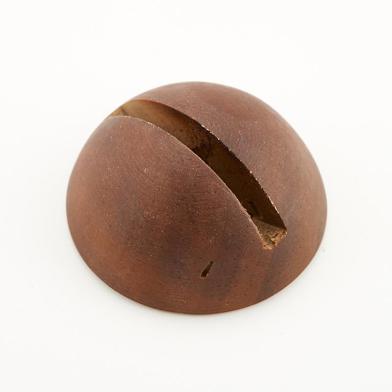 Подставка дерево под срез (коричневый) 5 см подставка под блин пуэра маленькая дерево
