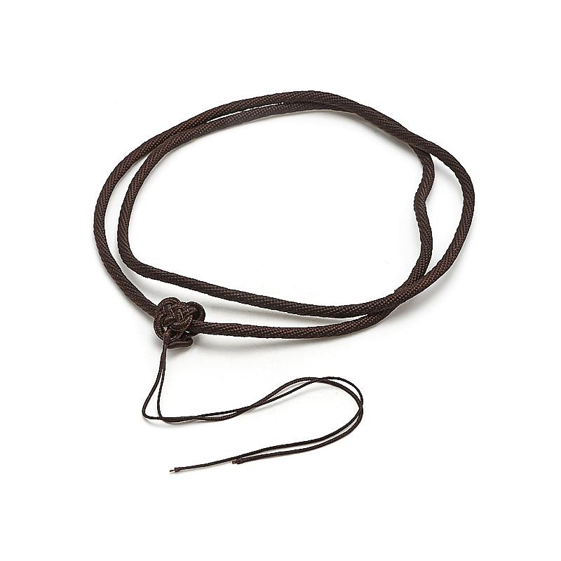 Шнурок коричневый 64 см