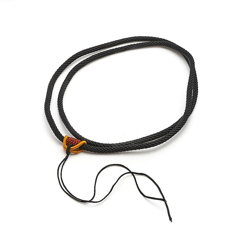 Шнурок черный 66 см шнурок черный 46 50 см текстиль