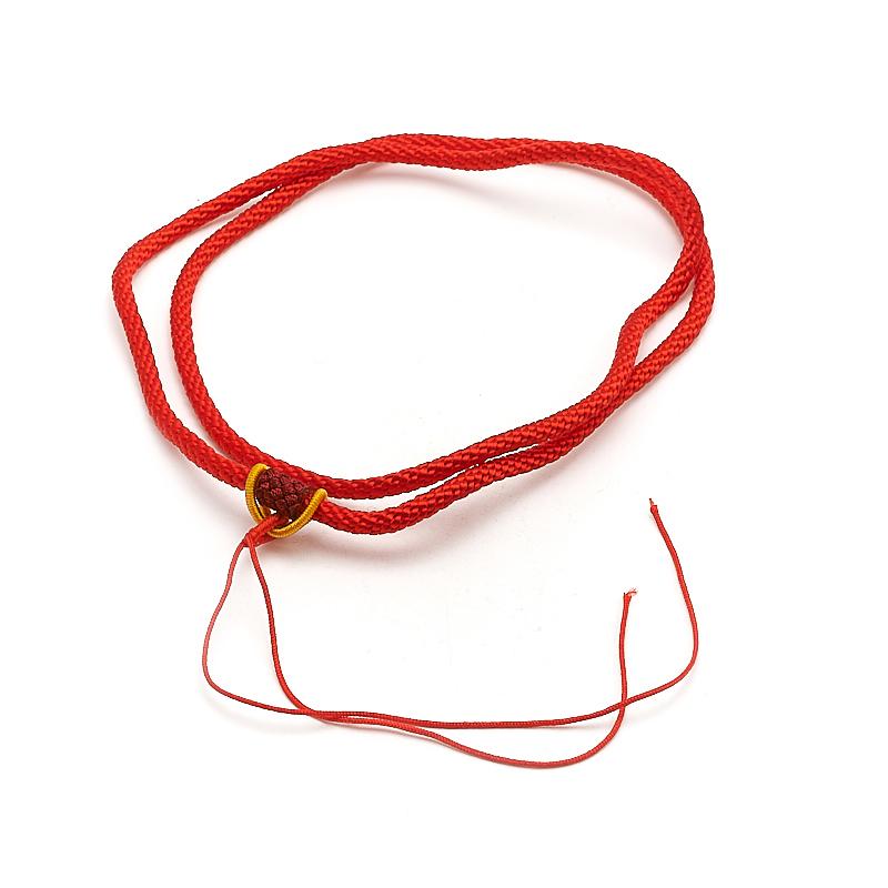 Шнурок красный 66 см