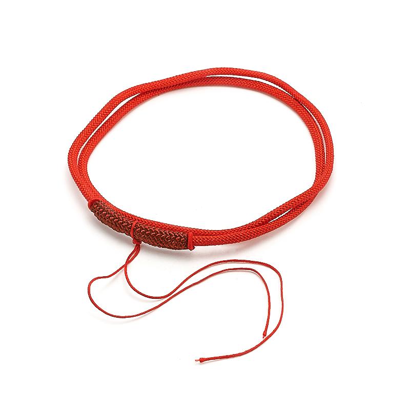 Шнурок красный 62 см