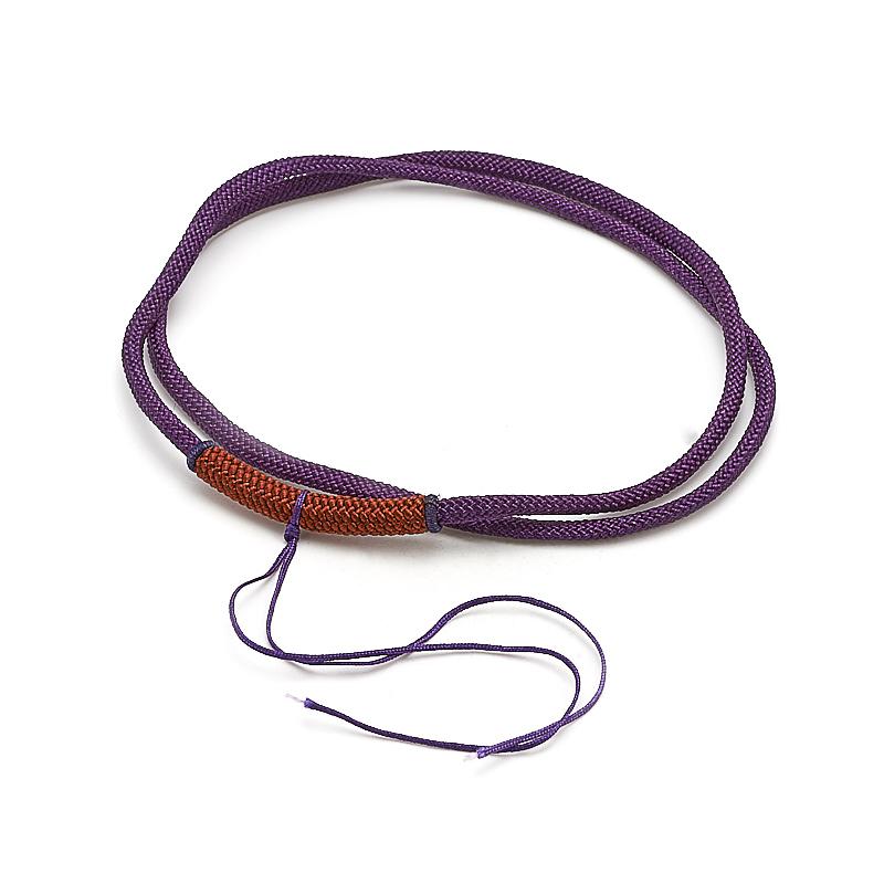 Шнурок фиолетовый 62 см