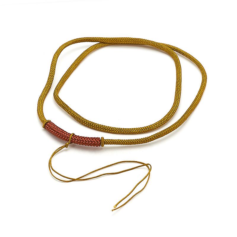 Шнурок желтый 62 см