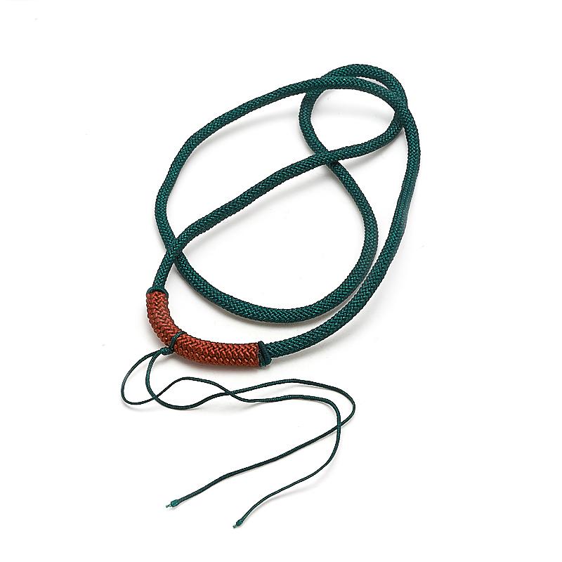 Шнурок зеленый 62 см