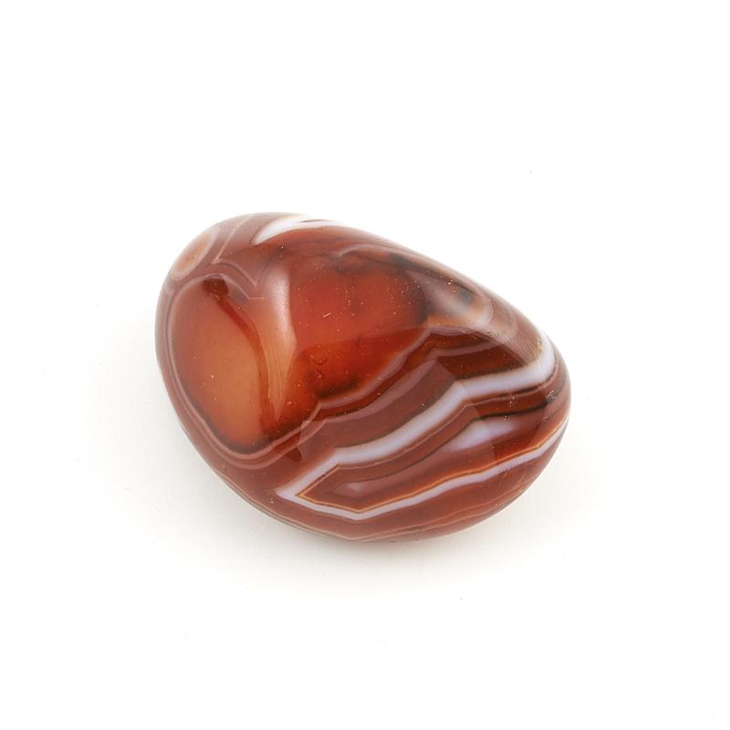 Галтовка агат красный Танзания (4-4,5 см) 1 шт