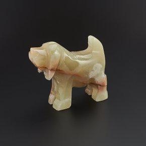 Собака оникс мраморный Пакистан 8 см