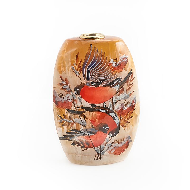 Ваза декоративная селенит 4x8x12 см ваза декоративная helga 1 стекло 16х20 см