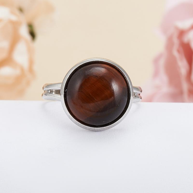 Кольцо бычий глаз ЮАР (регулируемый) размер 17