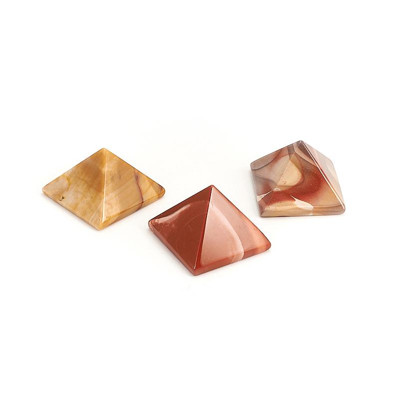 Пирамида яшма мукаит 4 см