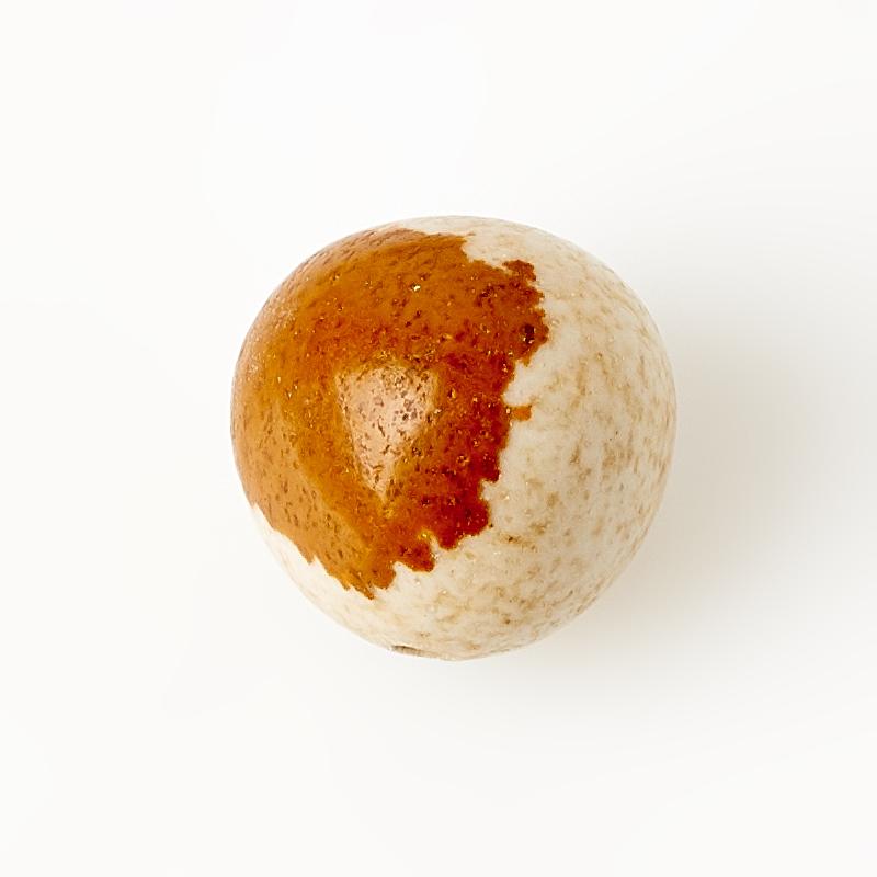 Бусина яшма рисунчатая Намибия шарик 10-10,5 мм (1 шт)